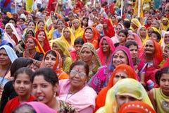 Versammlung der Brahminfrau Stockfoto