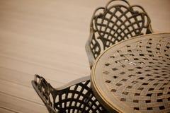 Versammlungstisch und Stuhl Stockbilder