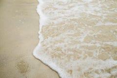 Versanden Sie Muster eines Strandes im Sommer Lizenzfreies Stockbild