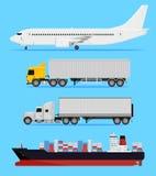 Versandtransport Stockfotos