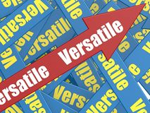 Versatile arrow Stock Image