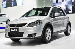 Versatile crossover Suzuki SX4 Royalty Free Stock Images