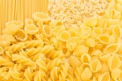 Versatile Italian pasta a pile Royalty Free Stock Image