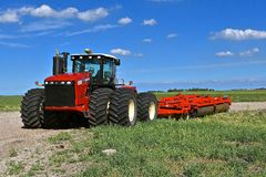 Versatile 450 4 wheel drive tractor Royalty Free Stock Photos