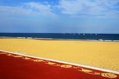 Verschönern Sie das Küsten Stockbild
