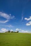 Verschönern Sie mit Bauernhofhaus im Bayern, GER landschaftlich Stockfoto
