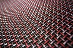 Verschachtelte abstrakte rote Beschaffenheit Stockbild