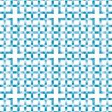 Verschachteltes blaues Muster Lizenzfreies Stockbild