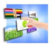 Verscheidene beelden Stock Foto