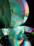 Verscheidene CDâs Stock Afbeeldingen