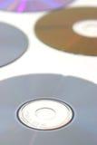 Verscheidene cd's Stock Afbeelding
