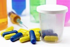 Verscheidene geneesmiddelen Stock Fotografie
