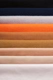 Verscheidene kleuren van stoffen Royalty-vrije Stock Afbeelding