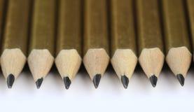 Verscheidene potloden Royalty-vrije Stock Foto's
