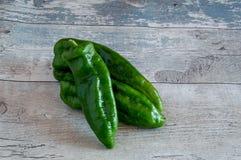 Verscheidene ruwe groen Royalty-vrije Stock Foto