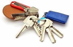 Verscheidene sleutels Royalty-vrije Stock Afbeeldingen