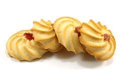 Verscheidene smakelijke koekjes Stock Fotografie