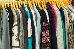 Verscheidene soorten kleren Stock Fotografie