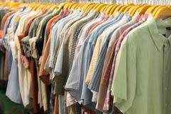 Verscheidene soorten kleren Royalty-vrije Stock Fotografie