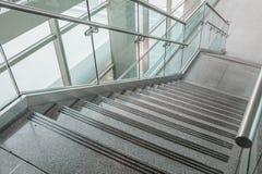 Verscheidene stappen van graniettreden stock foto's