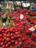 Verscheidene tomatentypes Royalty-vrije Stock Foto