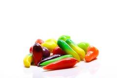 Verscheidene vruchten maar maken van schat Stock Fotografie