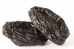 Verscheidene zwarte gedroogde pruimen Royalty-vrije Stock Afbeelding