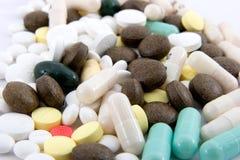 Verscheidenheid 2 van pillen Royalty-vrije Stock Afbeeldingen