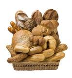 Verscheidenheid van brood Royalty-vrije Stock Afbeeldingen
