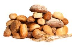 Verscheidenheid van brood Stock Foto
