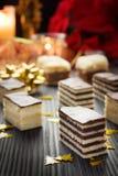 Verscheidenheid van cake royalty-vrije stock afbeeldingen