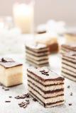 Verscheidenheid van cake Royalty-vrije Stock Afbeelding