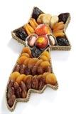 Verscheidenheid van droge vruchten Stock Foto