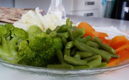 Verscheidenheid van groenten royalty-vrije stock foto