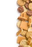 Verscheidenheid van koekjes Stock Foto's