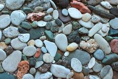 Verscheidenheids overzees stenenzand Royalty-vrije Stock Fotografie