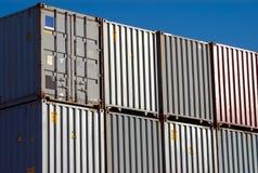 Verschepende Container royalty-vrije stock foto