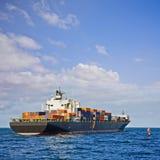 Verschepende Container Stock Foto