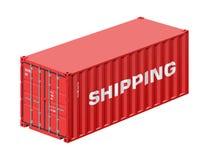 Verschepende container Royalty-vrije Stock Fotografie
