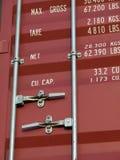 Verschepende container Royalty-vrije Stock Foto's