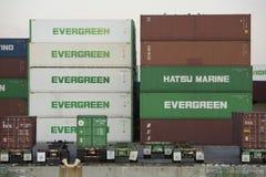 Verschepende Containers Royalty-vrije Stock Foto