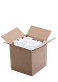 Verschepende doos Stock Afbeelding