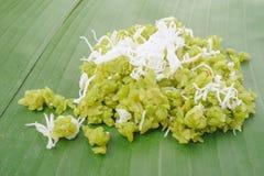 Verscheurde rijstkorrel Royalty-vrije Stock Afbeelding