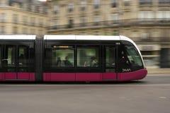 Verschieben der Straßenbahn von Dijon, Frankreich lizenzfreie stockfotografie