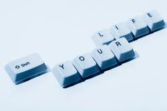 Verschieben Sie Ihre Lebensdauer Lizenzfreie Stockfotos