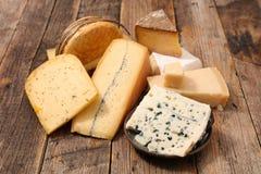 Verschieden vom Käse lizenzfreies stockbild