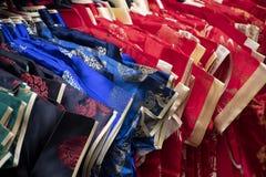 Verschieden von Charme decolation, das an China-Stadt herein vor Tag des Chinesischen Neujahrsfests verkauft lizenzfreies stockbild