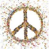 Verschiedenartigkeit im Frieden Lizenzfreie Stockfotografie