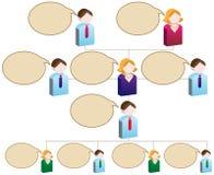 Verschiedenartigkeit-Organisationsdiagramm Lizenzfreie Stockfotos