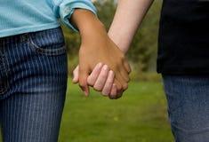 Verschiedenartigkeit und Freundschaft Lizenzfreie Stockbilder
